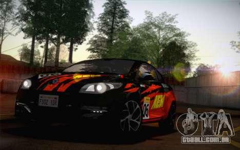 Renault Megane RS Tunable para GTA San Andreas vista traseira