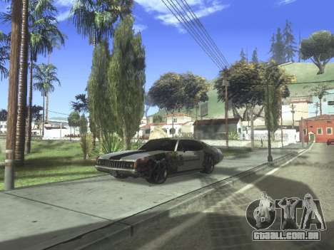Clover Modified para GTA San Andreas traseira esquerda vista