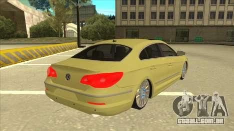 VW Passat CC para GTA San Andreas vista direita