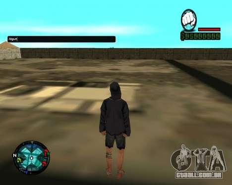 Cleo Gun for SA:MP (dgun) para GTA San Andreas