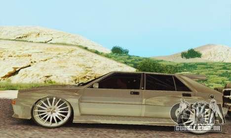 Lancia Delta HF Integrale para GTA San Andreas esquerda vista