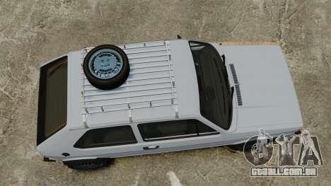 Volkswagen Golf MK1 GTI Rat Style para GTA 4 vista direita