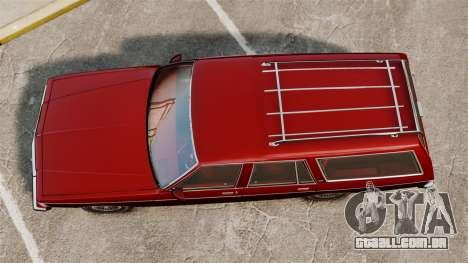 Chevrolet Caprice Wagon 1989 para GTA 4 vista direita
