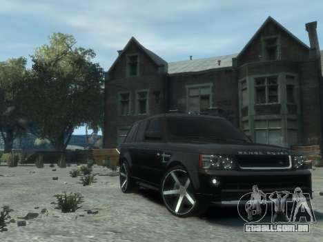 Range Rover Sport 2013 para GTA 4 vista direita