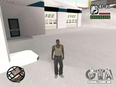 Alternar entre personagens como em GTA V para GTA San Andreas terceira tela