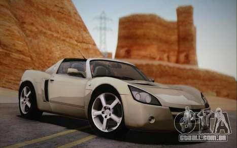 Opel Speedster Turbo 2004 para GTA San Andreas traseira esquerda vista