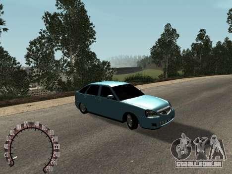 VAZ-2172 para GTA San Andreas esquerda vista