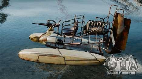 Barco do ar para GTA 4 esquerda vista