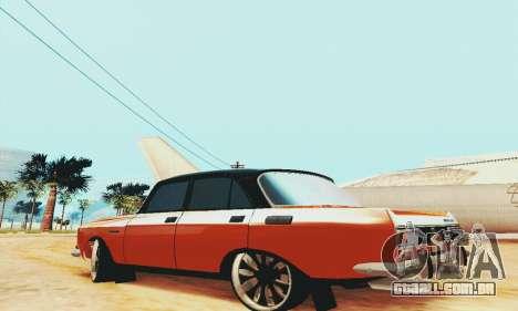 2140 Moskvich para GTA San Andreas vista direita