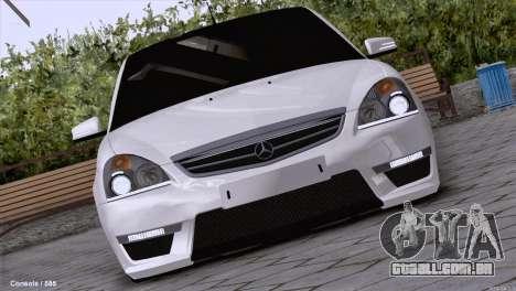 Lada Priora AMG Version para GTA San Andreas esquerda vista