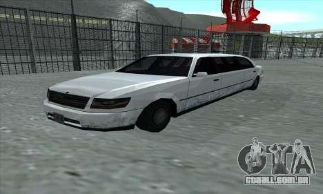 O trecho de GTA 5 para GTA San Andreas