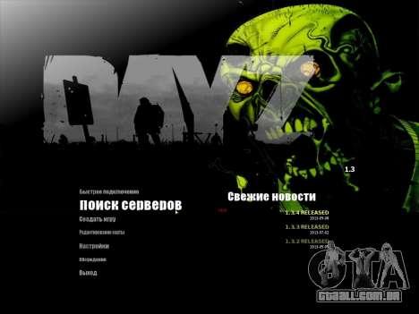 O menu de metrô em Russo para GTA San Andreas segunda tela