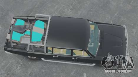 GAZ 2402-4 x 4 pick-up para GTA 4 vista direita