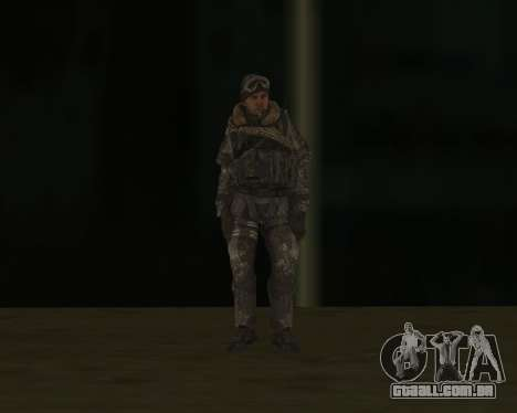 SOAP MacTavish para GTA San Andreas terceira tela
