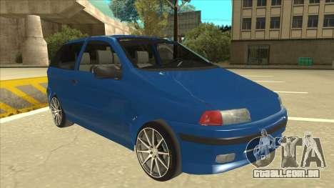 Fiat Punto MK1 Tuning para GTA San Andreas esquerda vista