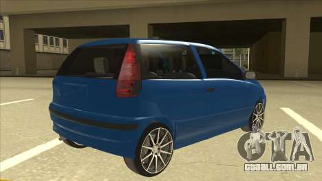 Fiat Punto MK1 Tuning para GTA San Andreas vista direita