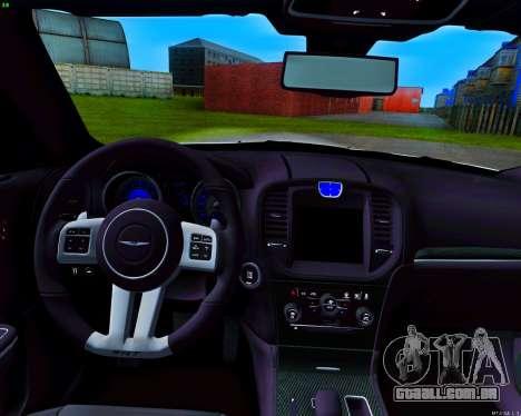 Chrysler 300C SRT-8 MANSORY_CLUB para GTA San Andreas vista superior