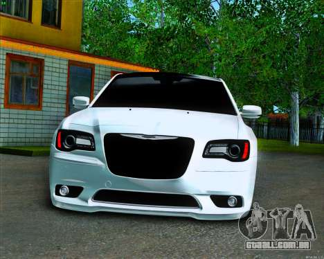 Chrysler 300C SRT-8 MANSORY_CLUB para GTA San Andreas vista interior