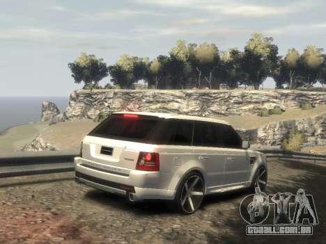 Range Rover Sport 2013 para GTA 4 esquerda vista