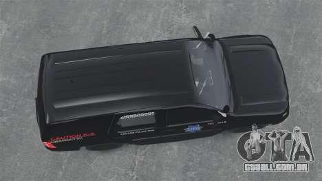 Chevrolet Tahoe 2010 PPV SFPD v1.4 [ELS] para GTA 4 vista direita