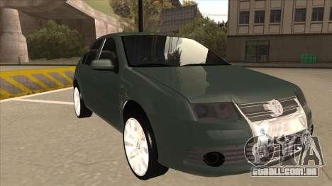 Jetta 2003 Version Normal para GTA San Andreas esquerda vista