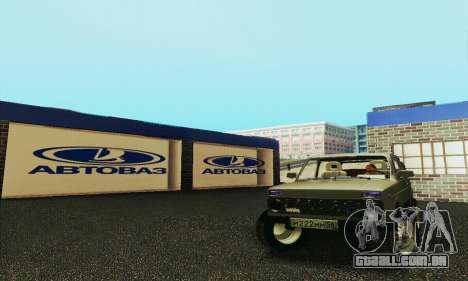 Nova garagem em Doherty para GTA San Andreas segunda tela