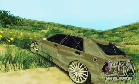 Lancia Delta HF Integrale para GTA San Andreas traseira esquerda vista