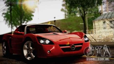 Opel Speedster Turbo 2004 para GTA San Andreas esquerda vista