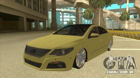 VW Passat CC para GTA San Andreas