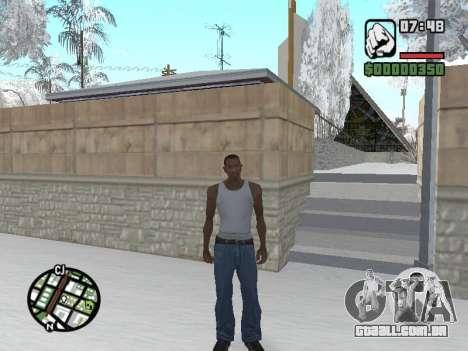 Alternar entre personagens como em GTA V para GTA San Andreas