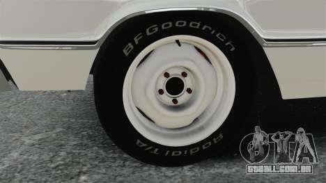 Dodge Coronet 440 1967 para GTA 4 vista de volta
