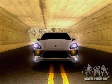 Porsche Cayenne Turbo S 2013 V1.0 para GTA San Andreas vista traseira