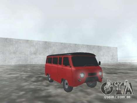 UAZ 22069 para GTA San Andreas vista interior