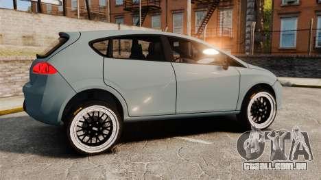 Seat Leon Gtaciyiz para GTA 4 esquerda vista