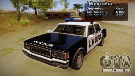 All Cars Radio & Repair Activator para GTA San Andreas segunda tela