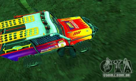 UAZ Hunter julgamento para GTA San Andreas interior