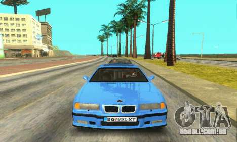 BMW M3 (E36) para GTA San Andreas vista interior