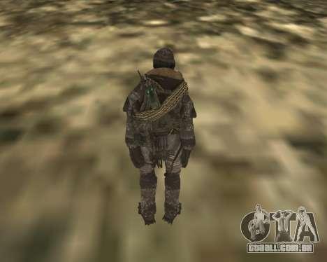 SOAP MacTavish para GTA San Andreas segunda tela
