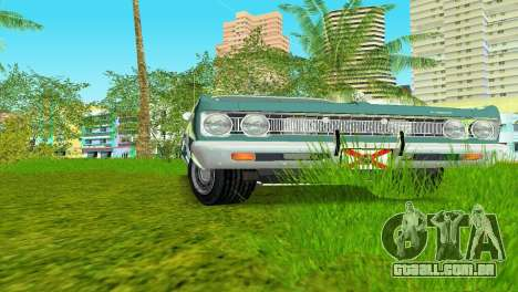 Plymouth Fury III 1969 Coupe para GTA Vice City deixou vista
