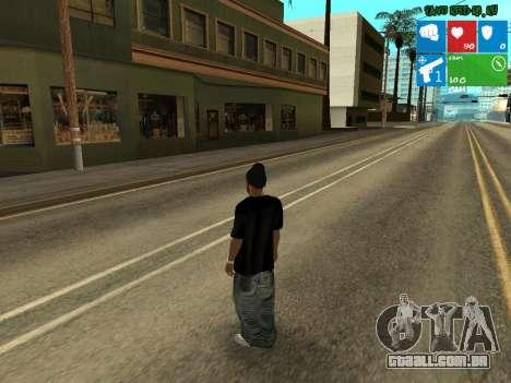 Nova traficante Afro para GTA San Andreas segunda tela