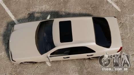 Mercedes-Benz C63 AMG para GTA 4 vista direita