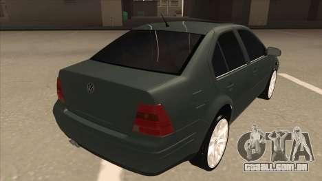Jetta 2003 Version Normal para GTA San Andreas vista direita