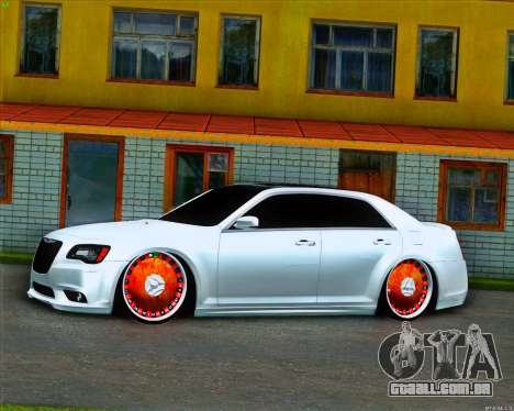 Chrysler 300C SRT-8 MANSORY_CLUB para GTA San Andreas esquerda vista