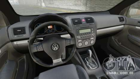 Volkswagen Golf GTi DT-Designs para GTA 4 vista lateral