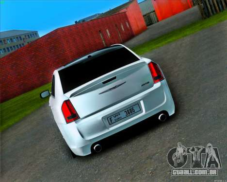 Chrysler 300C SRT-8 MANSORY_CLUB para GTA San Andreas vista direita