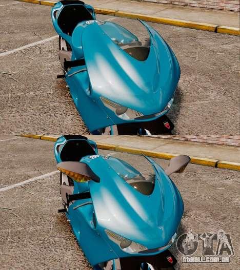 Ducati Desmosedici RR 2012 para GTA 4 vista de volta