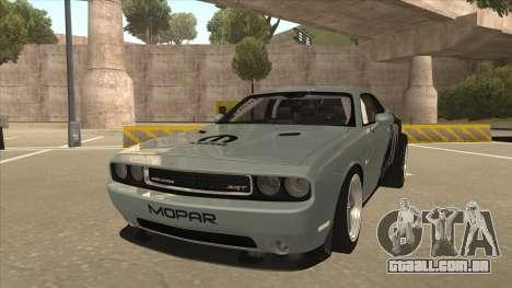 Dodge Challenger Drag Pak para GTA San Andreas