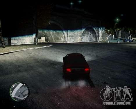 BiXenon para GTA 4 por diante tela