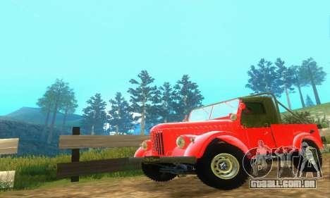 GAZ 69 Pickup para GTA San Andreas