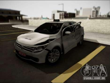 Volkswagen Voyage Taxi para GTA San Andreas vista interior